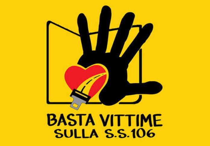 logo Basta Vittime Sulla Strada Statale 106