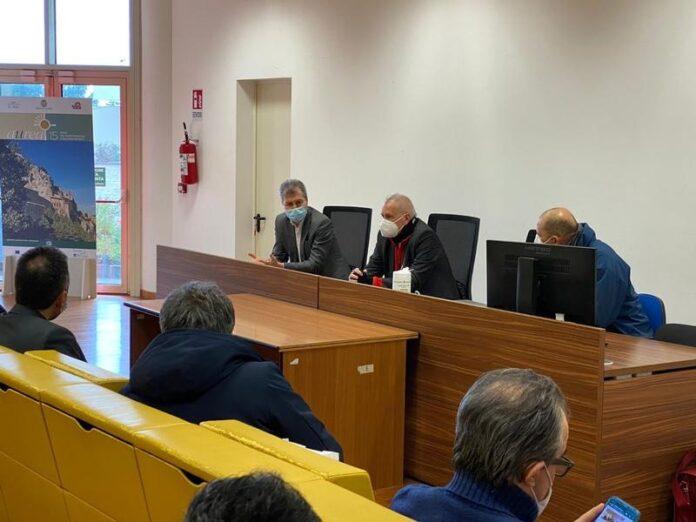 riunione istituzione geoparchi Calabria