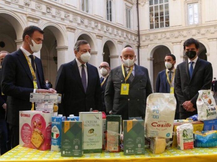 solidarieta agroalimentare a Palazzo-Chigi