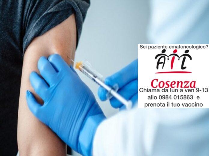 vaccini pazienti ematologici ail cosenza