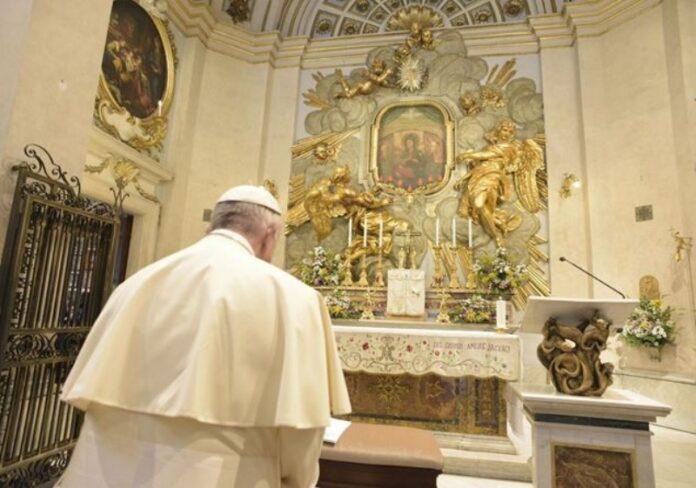 Papa Francesco preghiera pandemia