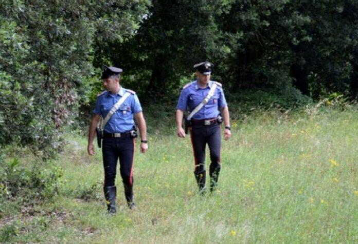 anziano ritrovato carabinieri