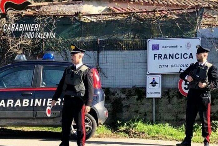 carabinieri francica vv
