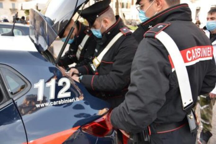 ontrolli carabinieri norme anti covid