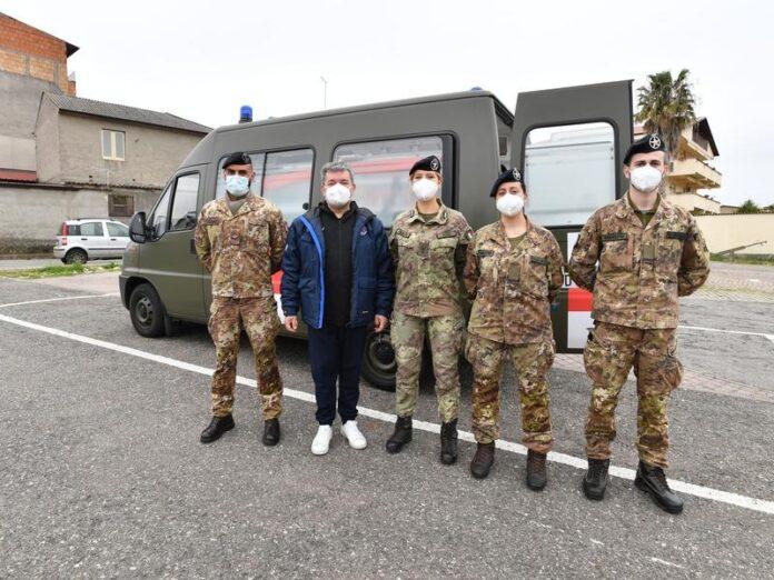 esercito supporto campagna vaccinale