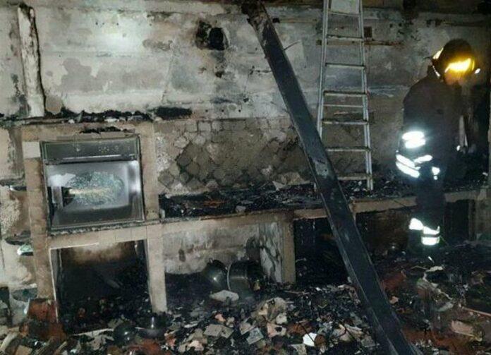 gerocarne incendio abitazione