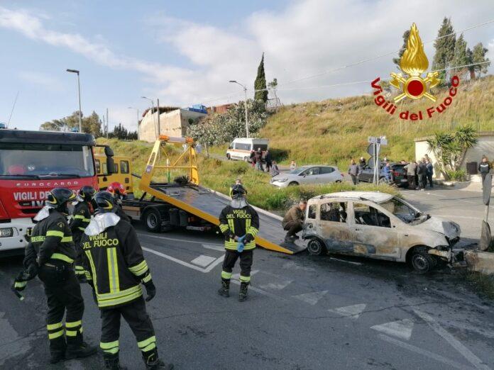 incidente Catanzaro muore 22enne