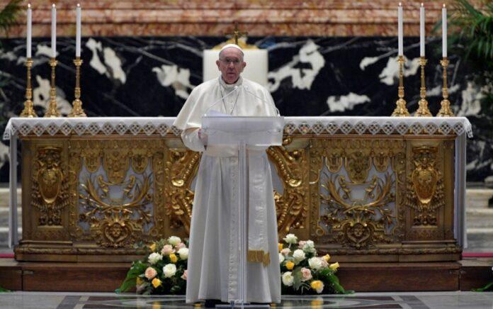 papa Francesco messa di Pasqua
