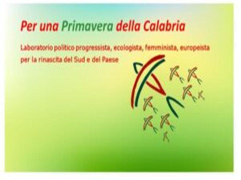 """""""Primavera della Calabria"""": prima assemblea del Laboratorio politico"""