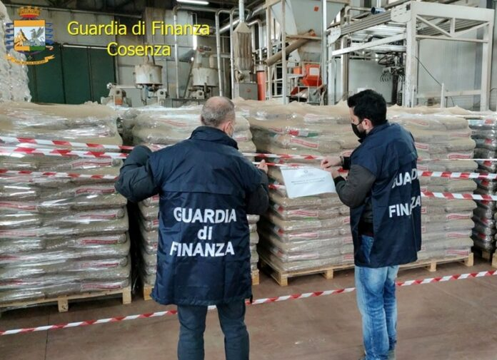 sequestro pellet contraffatto
