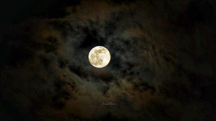 superluna foto di Sonia Parise
