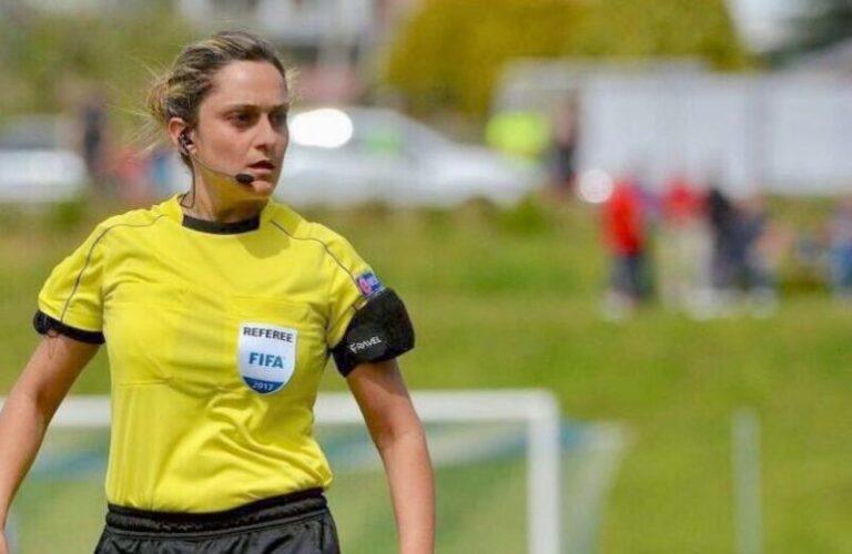 Reggina – Frosinone a Maria Marotta, prima donna ad arbitrare in serie B