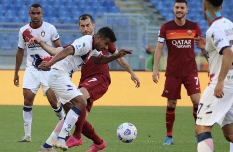 Roma – Crotone, i giallorossi dilagano. 5 – 0 il risultato finale