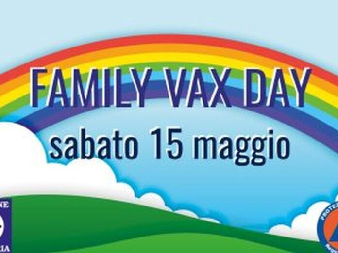 Family vax day Calabria