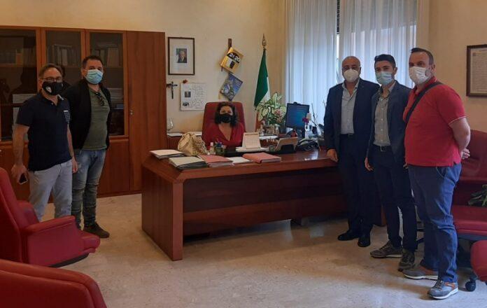 polizia penitenziaria Cosenza con Vice Prefetto
