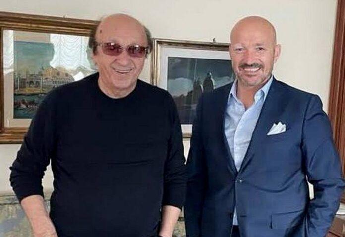 Luciano Moggi e Giancarlo Greco