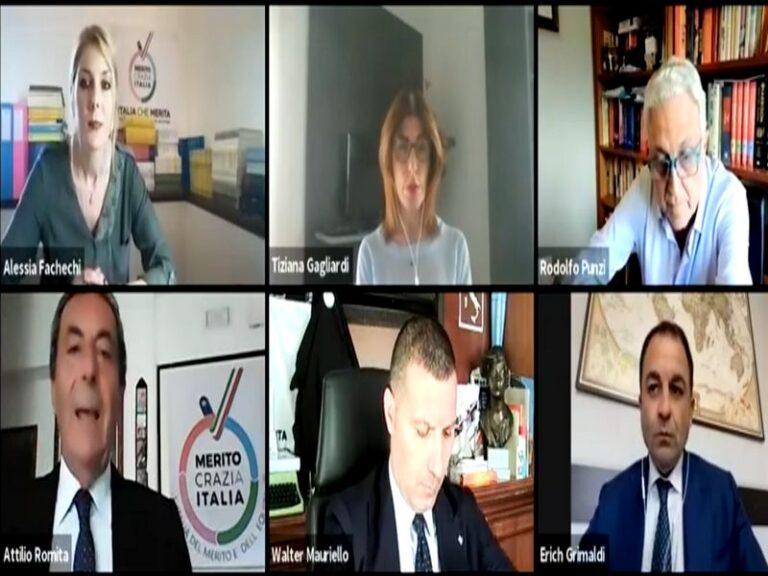 Webinar Meritocrazia Italia. Terapie Covid, la migliore soluzione