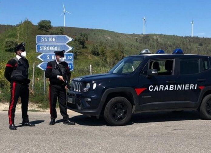 carabinieri strongoli