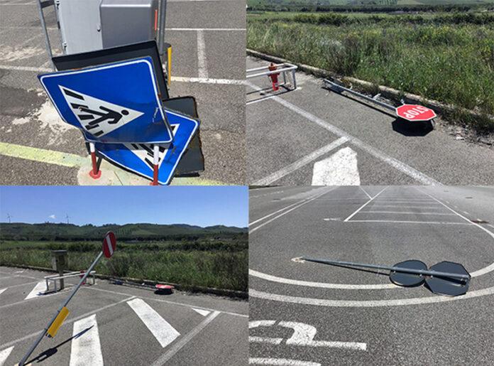 dannegiamenti auto parcheggio