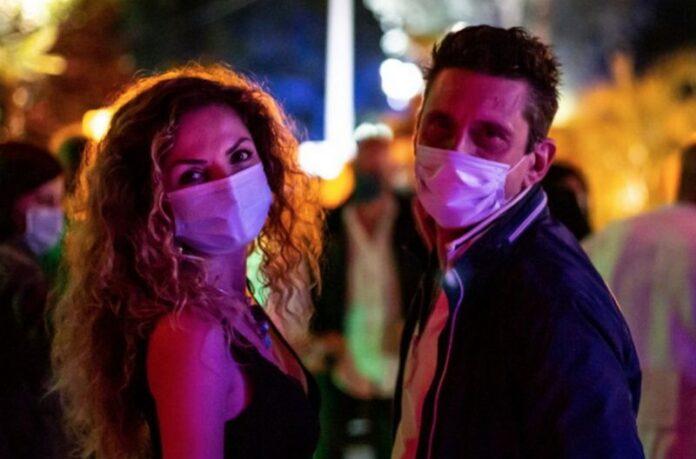 discoteca mascherine movida