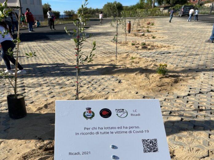 giardino memoria vittime covid