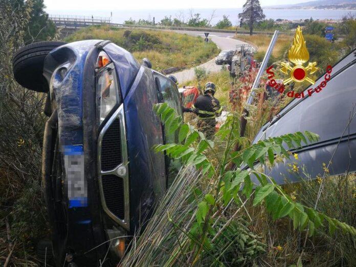 incidente stradale Staletti