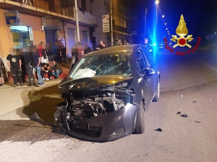 incidente stradale botricello