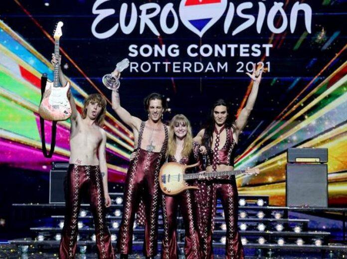 maneskin vincono eurovision 2021