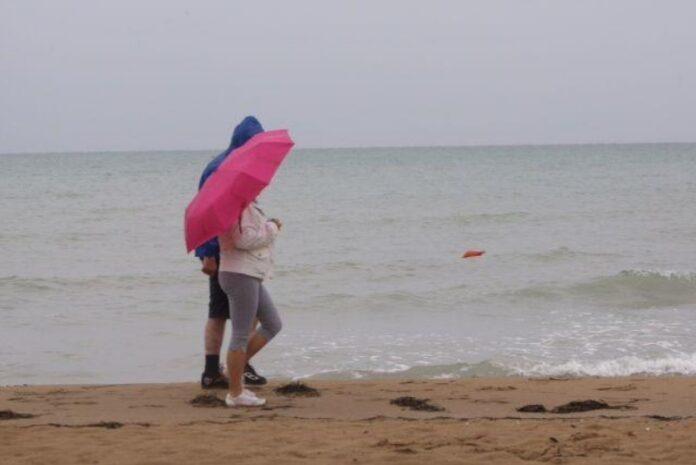pioggia mare