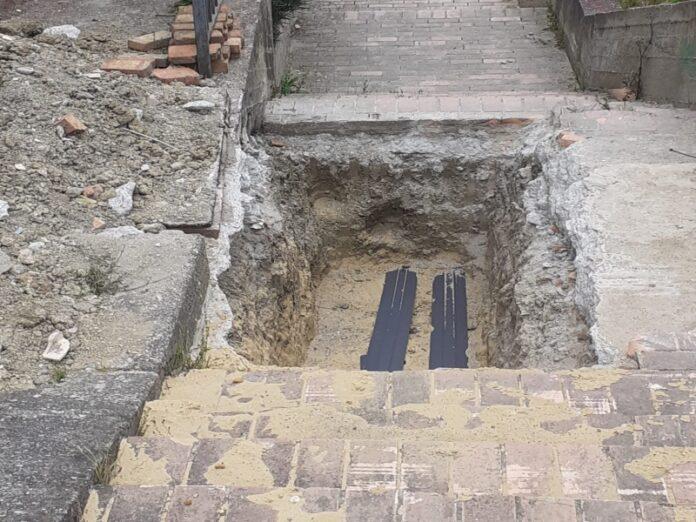 scalinata via campanella