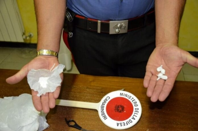 cocaina-carabinieri-arresto-cosenz
