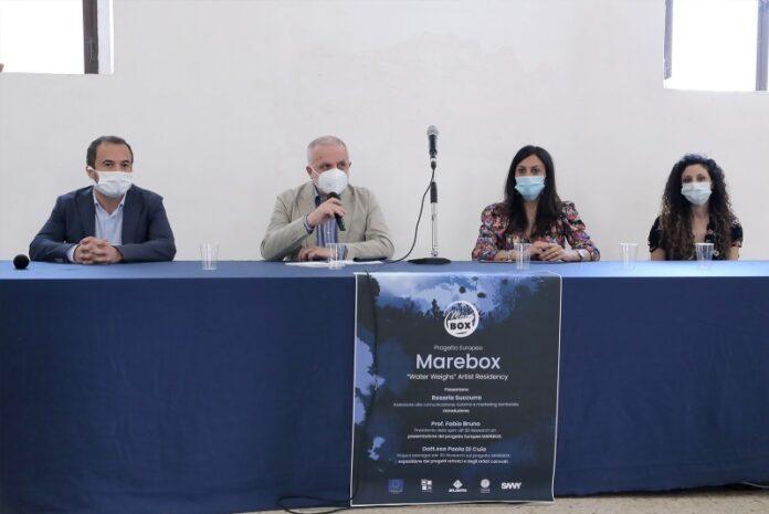 conferenza stampa progetto marebox