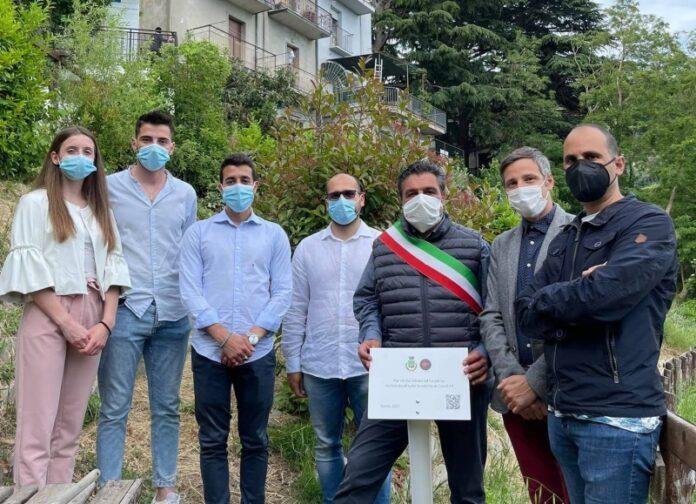 giardino della memoria vittime Covid Tiriolo