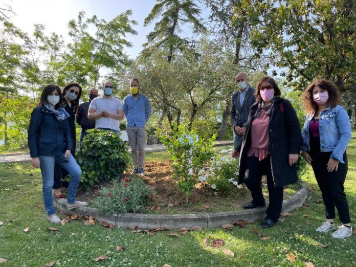 giardino della memoria vittime covid San Marco Argentano