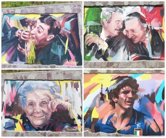 murales Cerva Cannistrà