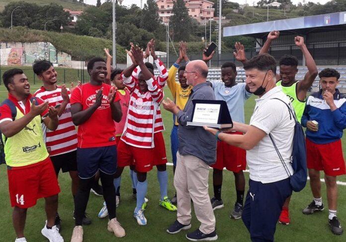 Refugee Teams premiazione san sostene