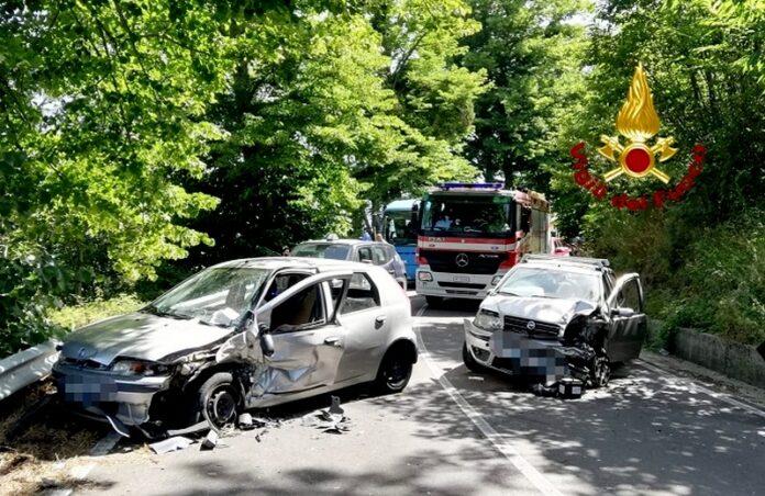san pietro apostolo incidente stradale