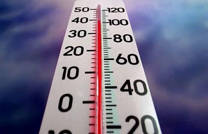 caldo torrido temperature estate