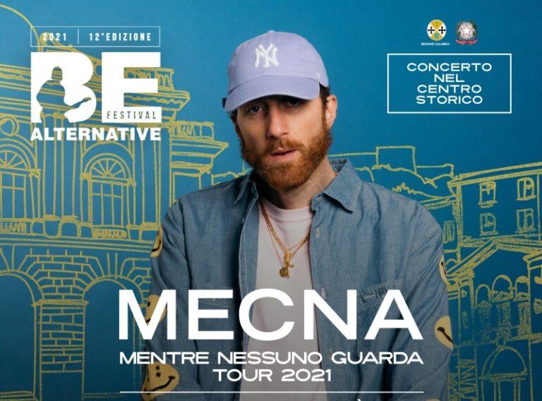 Entra nel vivo il Be Alternative Festival, Mecna a Cosenza