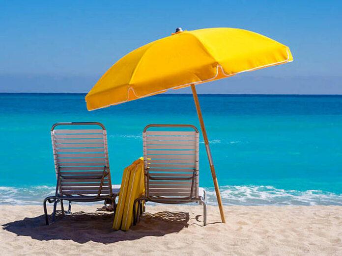 ombrellone sdraio spiaggia