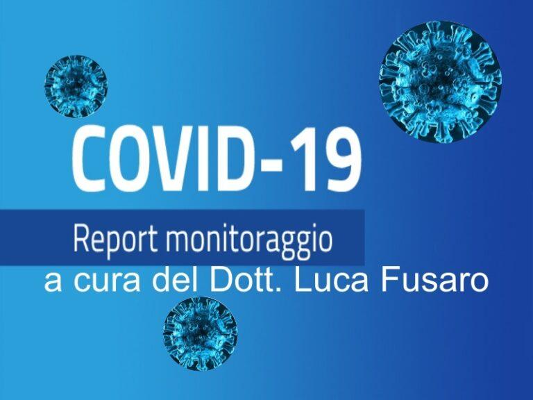 Covid Calabria, diminuzione dei nuovi casi e degli ospedalizzati