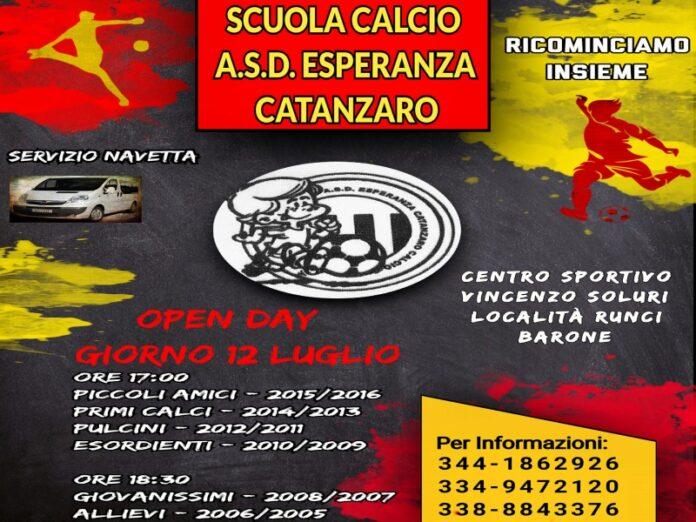 scuola calcio a.s.d esperanza catanzaro