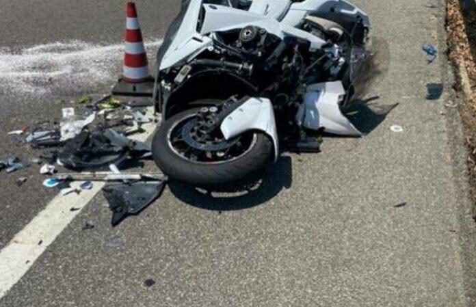 ss106 incidente moto