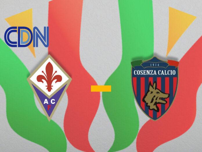 Fiorentina - Cosenza Coppa Italia