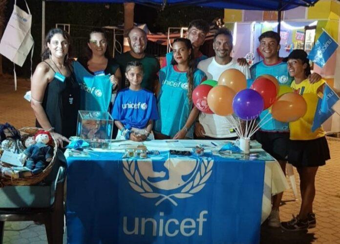Belvedere raccolta fondi Unicef
