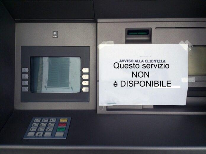 bancomat chiuso