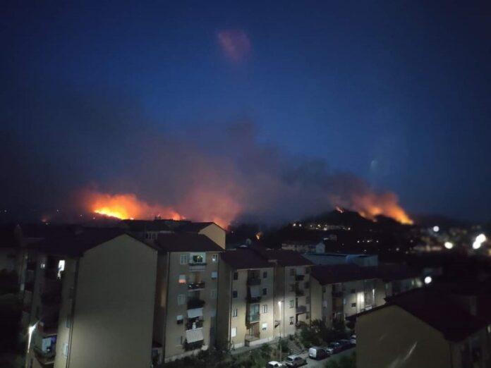 Incendio ACRI
