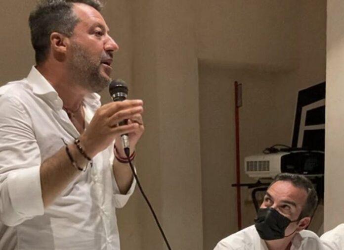 Salvini a Cosenza Occhiuto