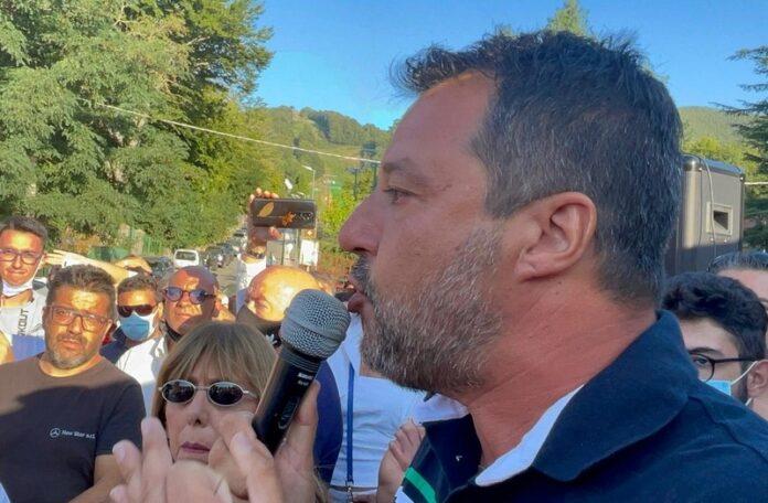 Salvini visita Aspromonte