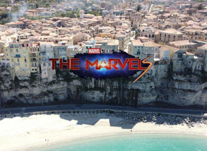 Tropea location film Marvel